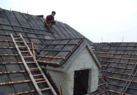 屋顶安装泡沫玻璃